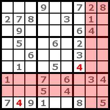 Sudoku Solution Step 2