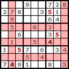 Sudoku Solution Step 3