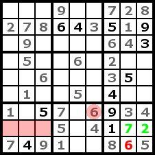 Sudoku Solution Step 5