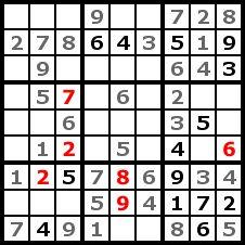 Sudoku Solution Step 6
