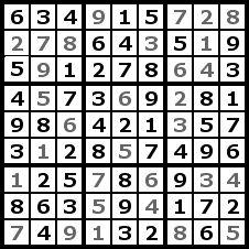 Sudoku Solution Step 9